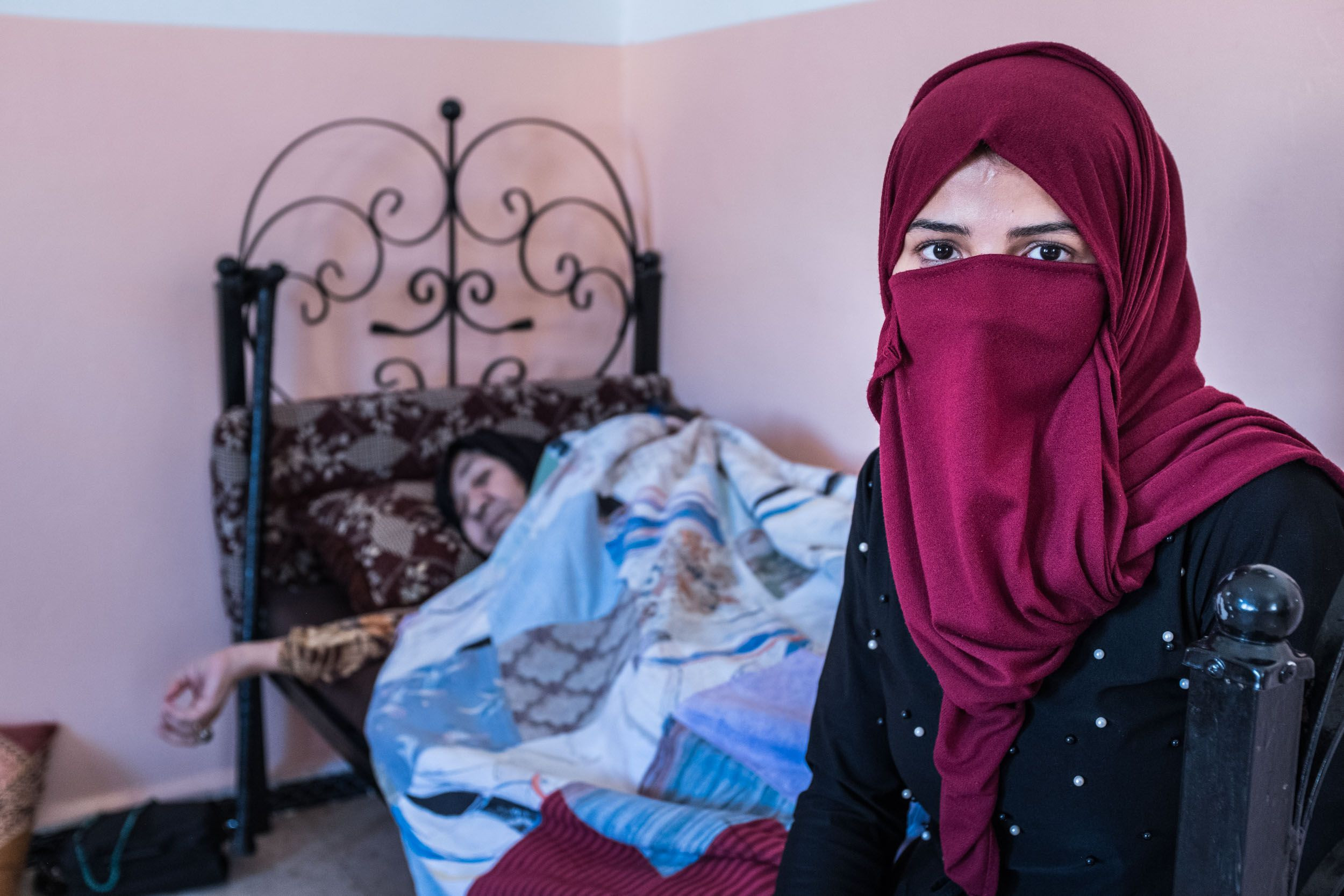 Nour - Married to a Syrian man at the age of 15. Photo by Martin Thaulow.