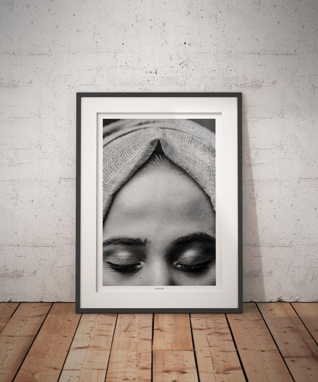 The Turkey Series - A Syrian Child Bride. Photo by photographer Martin Thaulow. Open Edition (seen in a frame in an environment. The frame is not part of sale). Buy high quality print.